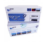 Картридж HP Color LJ PRO M351/ M451/MFP M375/М475 CE411A (305A) син (2,6K) UNITON Premium