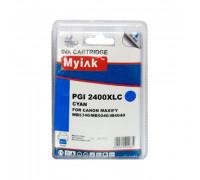 Картридж CANON PGI-2400XLC голубой MyInk