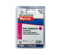 Картридж CANON PGI-2400XLM пурпурный MyInk