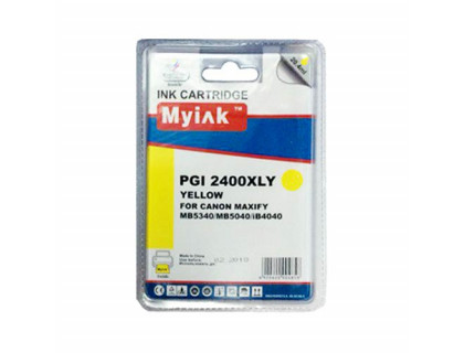 Картридж CANON PGI-2400XLY желтый MyInk