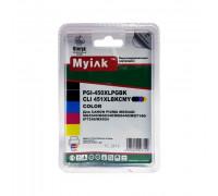 Картриджи заправленные ПЗК (PGI-450Bk,CLI-451BK/C/M/Y) для Canon Pixma iP7240/MG5440/MG6440, автосброс, 5шт MyInk