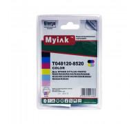 Картриджи заправленные ПЗК (T0481/0482/0483/0484/0485/0486) для Epson St Photo R200/R300/RX500/600, автосброс, 6 шт MyInk