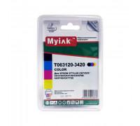 Картриджи заправленные ПЗК (T0631/0632/0633/0634) для Epson St C67/C87/CX3700/4100/4700, автосброс, 4 шт MyInk