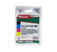 Картриджи заправленные ПЗК (T0731-0734) для Epson St C79/CX3900/4900/5900, автосброс, 4шт MyInk