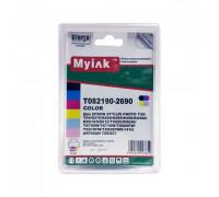 Картриджи заправленные ПЗК (T0821-0826) для Epson St Photo R270/290/295/390/RX590/690/TX700/Т50/Т59/1410, автосброс, 6 шт MyInk
