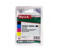 Картриджи заправленные ПЗК (T0921-0924) для Epson St Photo C91/Т26/CX4300/TX106/TX109 /T27/TX117/TX119, автосброс, 4 шт MyInk