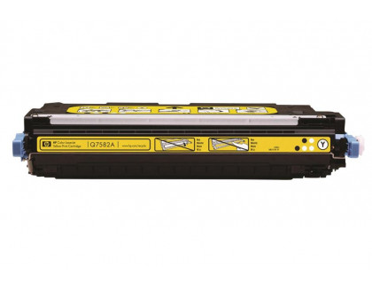 Картридж Q7582A Hewlett Packard (HP) Yellow (желтый) (6000 копий) UNITON Premium