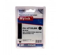 Картридж CANON CLI-471XLBK PIXMA MG7740/6840/5740 ч MyInk