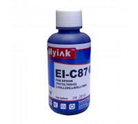 Чернила для EPSON (T6732) L100/L200/ L655/ L800/ L1800 (100мл, cyan) EI-C87 Gloria MyInk