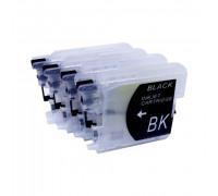 Набор картриджей ПЗК LC39/985 для Brother DCP-315/125/515/MFC-J220/265/410 4шт Yuxunda