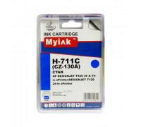 Картридж HP № 711 голубой MyInk