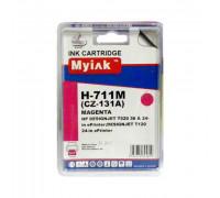 Картридж HP № 711 пурпурный MyInk
