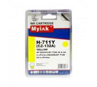 Картридж HP № 711 желтый MyInk