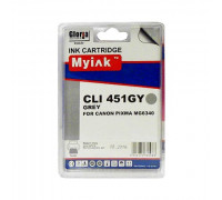 Картридж CANON CLI-451XLGY серый MyInk