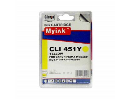 Картридж CANON CLI-451XLY желтый MyInk