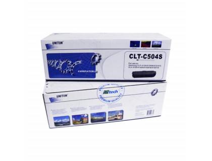 Картридж CLT-C504S Samsung Cyan (голубой) (1800 копий) UNITON Premium