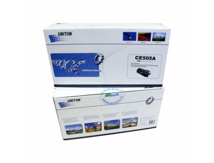 Картридж CE505A Hewlett Packard (HP) Black (черный) (2300 копий) UNITON Premium