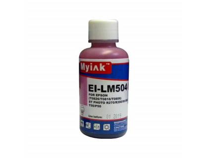 Чернила для EPSON (Т0826/T0816/T0806) St Photo T10/T50/P50/R200/R270/RX590 (100мл,light magenta) EI-LM504 Gloria MyInk