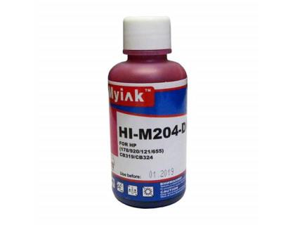 Чернила для HP (178/121/655/901/920) CB319/CB324 (100мл,magenta) HI-M204-D Gloria MyInk