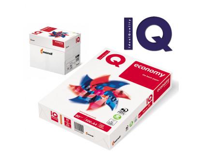 Бумага IQ economy А4, 80г/м², белизна 146% CIE, 500 листов