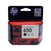 Картридж HP № 650 черный Hewlett Packard оригинальный