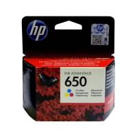 Картридж HP № 650 цветной Hewlett Packard оригинальный