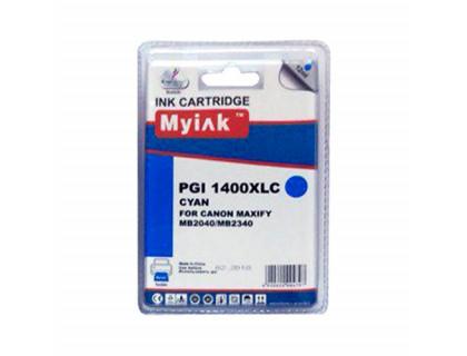Картридж CANON PGI-1400XLC голубой MyInk