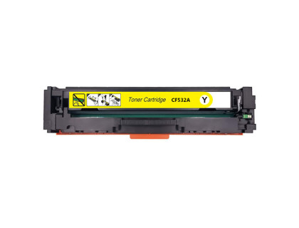 Картридж CF532A Hewlett Packard (HP) Yellow (желтый) (900 копий) UNITON Premium
