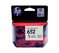 Картридж HP № 652 цветной Hewlett Packard оригинальный