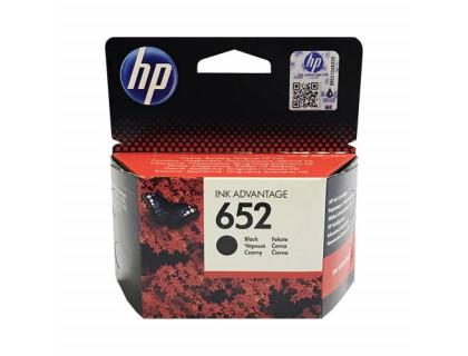 Картридж HP № 652 черный Hewlett Packard оригинальный