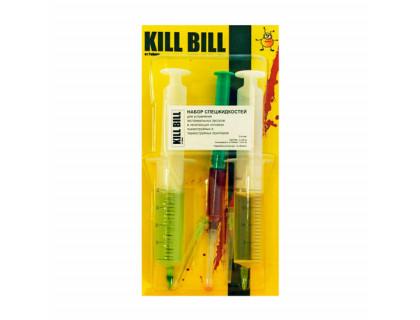 Набор промывочных жидкостей в шприцах (2x20ml+1x5ml) KILL-BILL от Робика