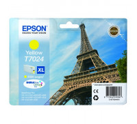 Картридж (T7024) EPSON WorkForce Pro WP-4015/4025/4515/4525/4535 желт Китай