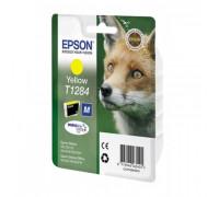 Картридж EPSON T1284 желтый InkTec