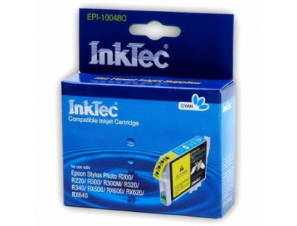 Картридж EPSON T0482 голубой InkTec