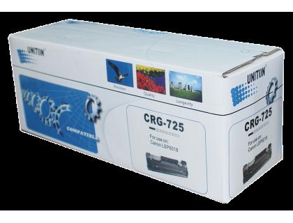 Картридж C-725 Canon Black (черный) (1600 копий) UNITON Premium