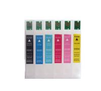Перезаправляемые картриджи (ПЗК) для МФУ Epson Stylus Photo RX700 (T5591, T5592, T5593, T5594, T5595, T5596), 6 шт, с чипами IST
