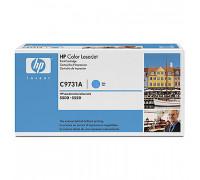 Картридж HP Color LJ 5500 C9731A (645A) (восстановленный,чека) син (12K) UNITON Eco