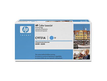 Картридж С9731А Hewlett Packard (HP) Cyan (голубой) (12000 копий) UNITON Eco