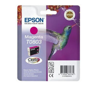 Картридж EPSON T0803 пурпурный InkTec