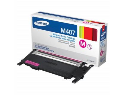 Картридж CLT-M407S Samsung Magenta (пурпурный) (1000 копий) UNITON Eco