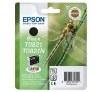 Картридж EPSON T0821N черный InkTec