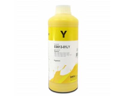 Чернила для EPSON (Т0734/0924/1034/1284) St C67/91/CX3700/4300/ T40/TX550/S22/SX125 (1л,yellow, Pigment) E0013-01LY InkTec