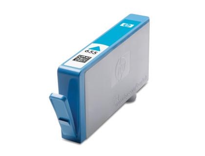 Картридж HP № 655 голубой MyInk