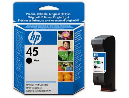 Картридж HP № 45 черный UNIJET