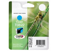 Картридж (T0822N) EPSON R270/390/RX590/TX700 син InkTec
