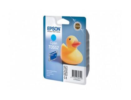 Картридж EPSON T0552 голубой InkTec
