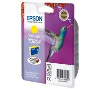 Картридж EPSON T0804 желтый InkTec