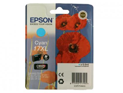 Картридж (T1712) EPSON Expression Home XP-103/203/406 син MyInk