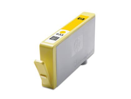 Картридж HP № 655 желтый MyInk