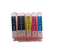 Перезаправляемые картриджи (ПЗК) для Canon PIXMA (PGI-5Bk,CLI-8BK/C/M/Y) iP4200, iP4500, iP5200, iP4300, MP610, MP600, MP500, iP5300, MP800, MP810, MP530, MP830, MX850, комплект из 5 шт, с авточипами IST